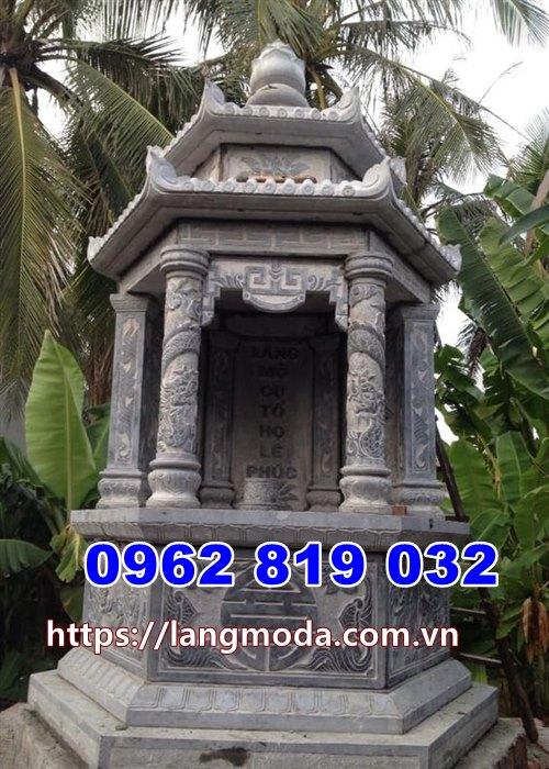 Mộ tháp đá đẹp để tro cốt tại Ninh Thuận