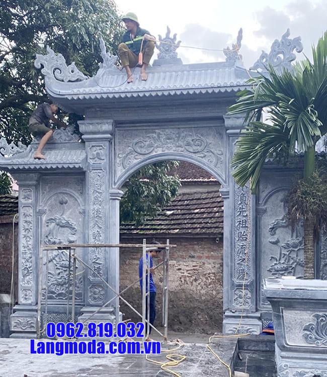 các mẫu cổng nhà thờ họ đẹp tại Bắc Giang