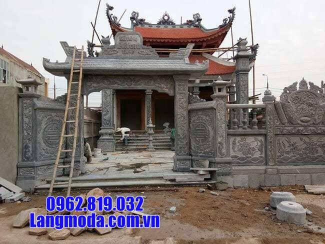 cổng đá tại Cao Bằng đẹp
