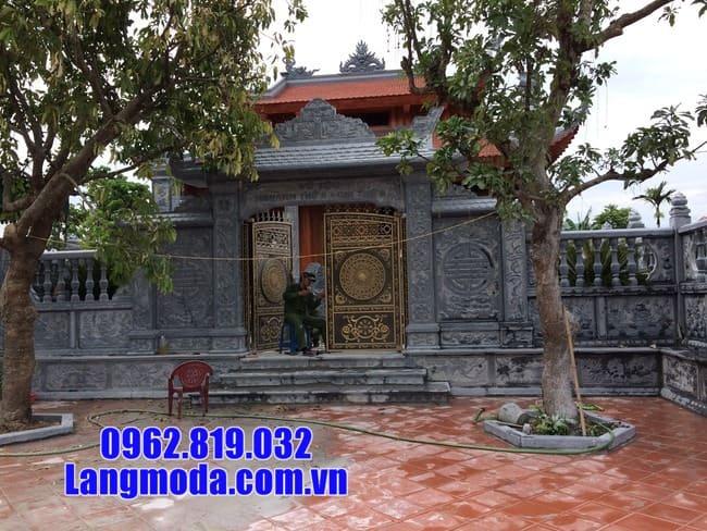 cổng nhà thờ tộc tại Bắc Giang đẹp