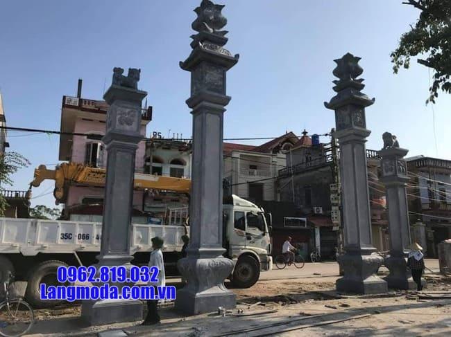 cổng tam quan đá đẹp tại Cao Bằng