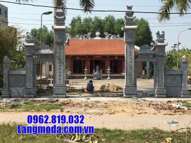 cổng tam quan đá tại Cao Bằng đẹp