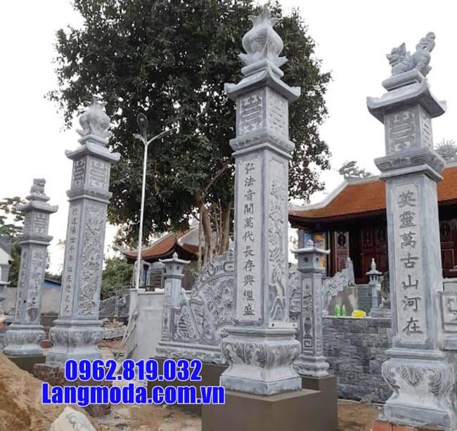 cổng tam quan đá tại Long An đẹp