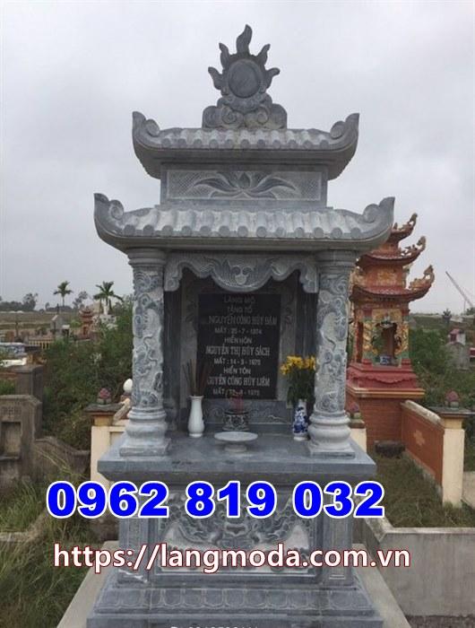 Mẫu mộ đá tháp tại Bình Thuận  - Tháp mộ đá tại Bình Thuận