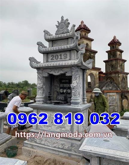 Mẫu mộ đẹp bằng đá để tro cốt tại Kiên Giang - Tháp mộ đẹp tại Kiên Giang