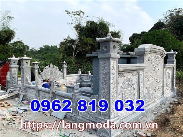 Mẫu nhà mồ đẹp để tro cốt tại Bình Định