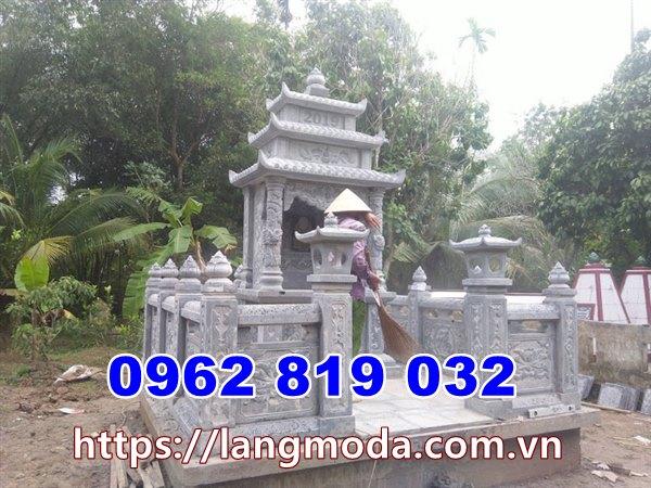 Mẫu nhà mồ đẹp thờ hũ tro cốt tại Tiền Giang