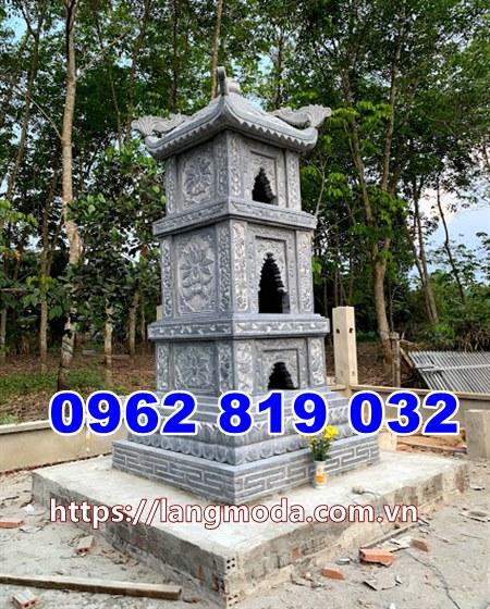 Mẫu tháp đẹp để hũ tro cốt tại Hậu Giang