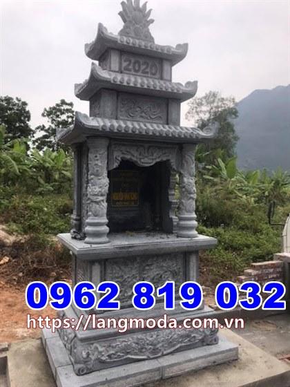 mẫu tháp mộ đá để tro cốt tại Bình Định