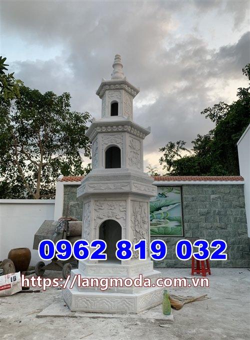 mẫu tháp mộ đá đẹp để hũ tro cốt tại Ninh Thuận