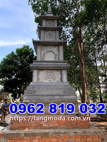 Mẫu tháp mộ đá đẹp để hũ tro cốt tại Vũng Tàu