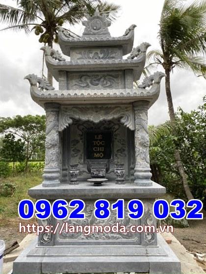 Mẫu tháp mộ đẹp để hũ tro cốt tại Vĩnh Long - Mẫu mộ đẹp để tro cốt tại Vĩnh Long