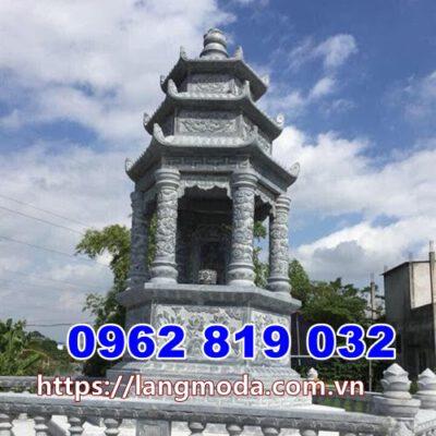 Mẫu tháp mộ đẹp để hũ tro cốt tại Cà Mau, mẫu mộ đẹp để tro cố tại Cà Mau