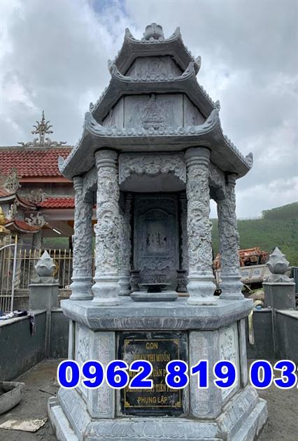 Mẫu tháp mộ đẹp để tro cốt bằng đá tại Nha Trang khánh Hòa