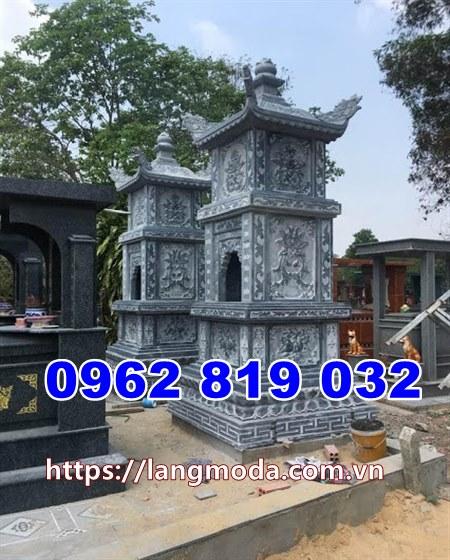 mẫu tháp mộ đẹp tại Hậu Giang - Mẫu mộ đá đẹp để tro tại Hậu Giang