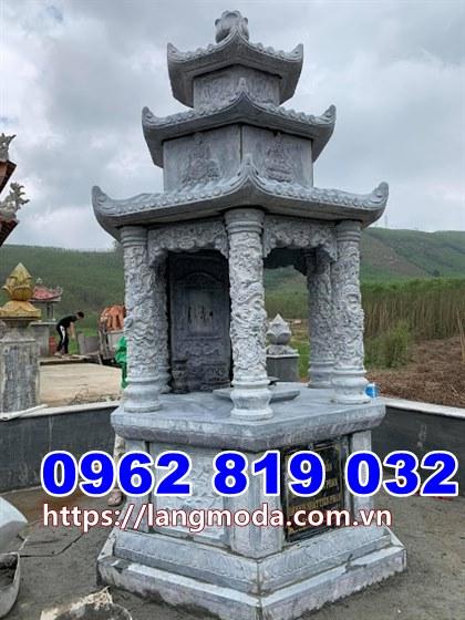 Mẫu tháp mộ đẹp thờ hũ tro cốt tại Tiền Giang