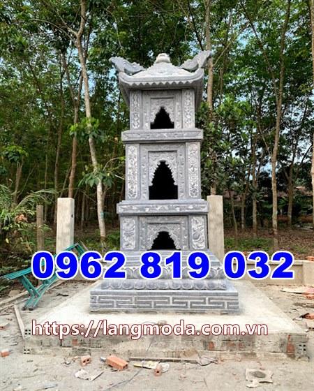Mẫu tháp mộ đẹp thờ tro cốt tại kiên giang