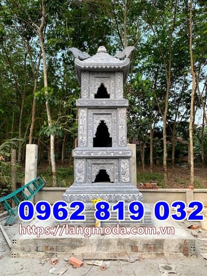 Tháp đá đẹp để tro cốt tại Bình Thuận