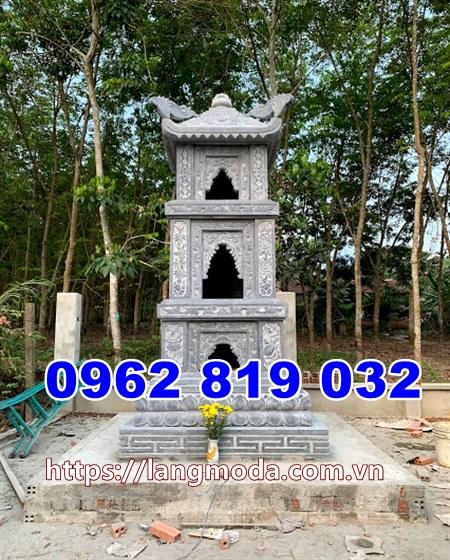 Tháp mộ đá để hũ tro cốt tại Cà Mau, mẫu mộ đẹp để tro cốt tại Cà Mau