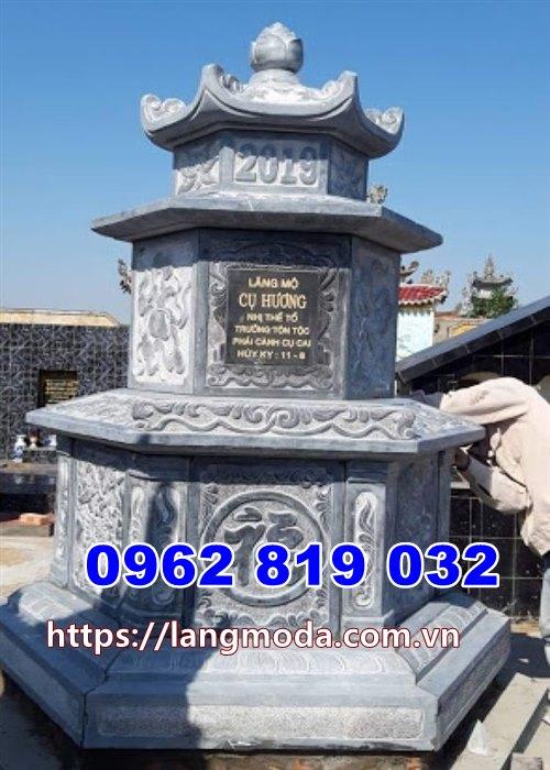 Tháp mộ đá để tro cốt tại Ninh Thuận, mẫu mộ đá đẹp tại Ninh Thuận