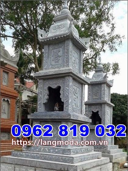 tháp mộ đá tại Phú Yên, Mẫu tháp để tro cốt tại Phú Yên