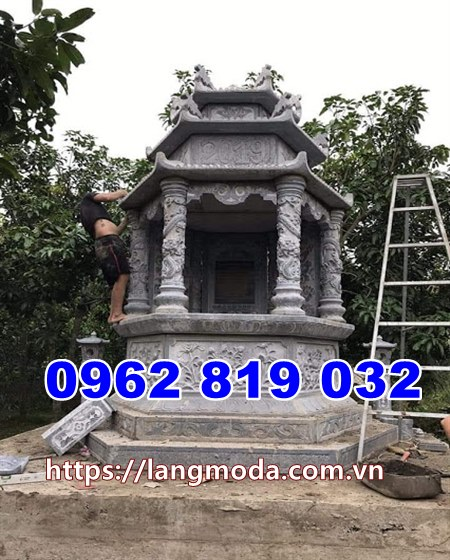 Tháp mộ để hũ tro cốt đẹp tại Tây Ninh