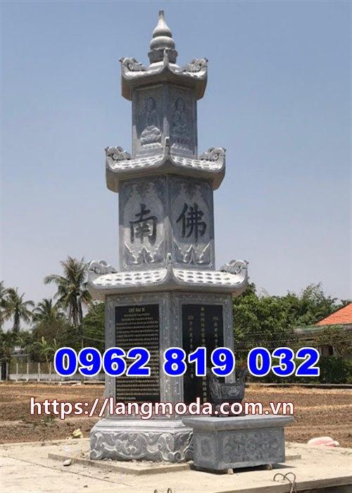 Tháp mộ để hũ tro cốt tại Cà Mau