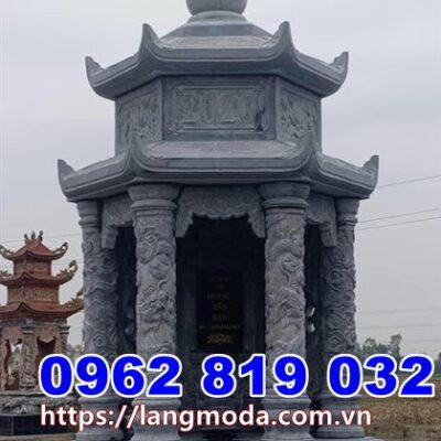 Tháp mộ đẹp bằng đá để tro cốt tại Bình Thuận