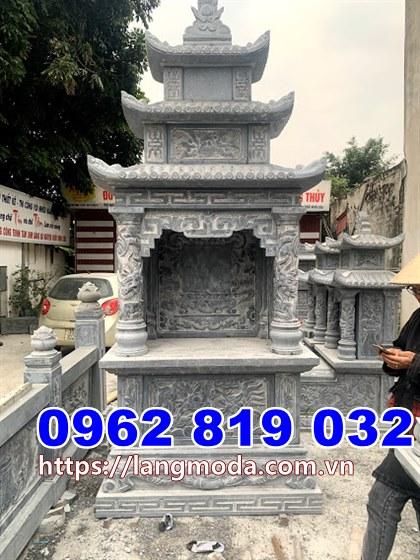 Tháp mộ đẹp thờ hũ tro cốt tại Tiền Giang