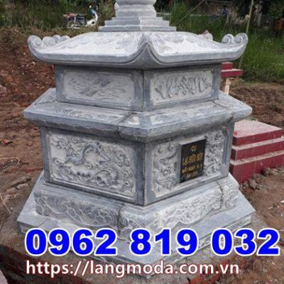 Xây tháp mộ để hũ tro cốt tại Sóc Trăng