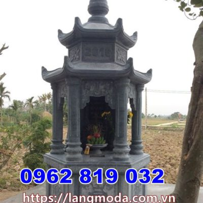 Xây tháp mộ đẹp để hũ tro cốt nhiều tầng tại Trà Vinh