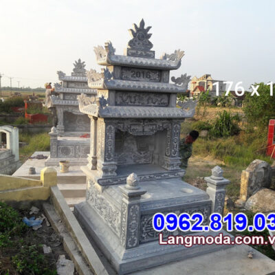 Hình ảnh mẫu mộ đôi đẹp nhất được lắp đặt tại Vũng Tàu