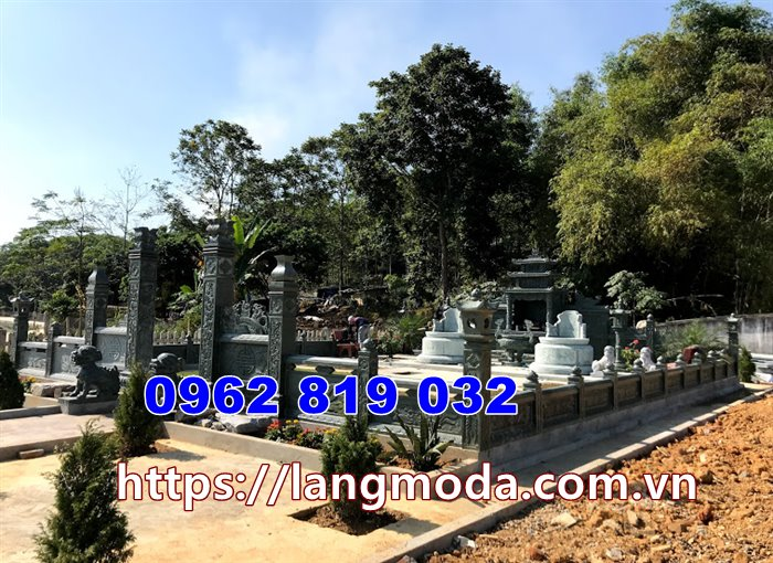 Khu mộ gia đình tại Sài Gòn - Lăng mộ đá mẫu nhà mồ đẹp Sài Gòn Hồ Chí Minh