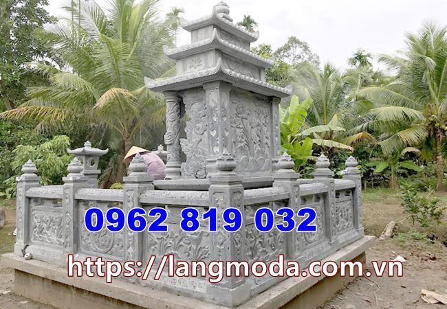 Mẫu hàng rào bao quanh khu nhà mồ lăng mộ
