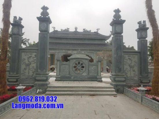 cổng đá đình chùa đẹp nhất tại bến tre