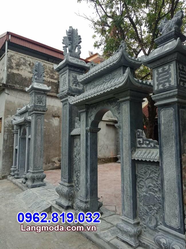 cổng tam quan đá tại Cần Thơ