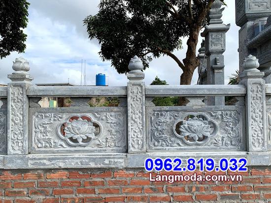 hàng rào bằng đá cho khu lăng mộ tại Cà Mau