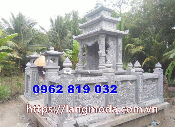 Khu mộ gia đình tại sài gòn hồ chí minh - Mẫu nhà mồ đẹp tại Sài Gòn Hồ Chí Minh