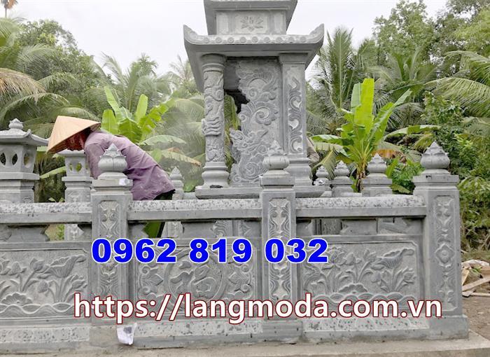 Mẫu hàng rào nhà mồ - hàng rào lăng mộ