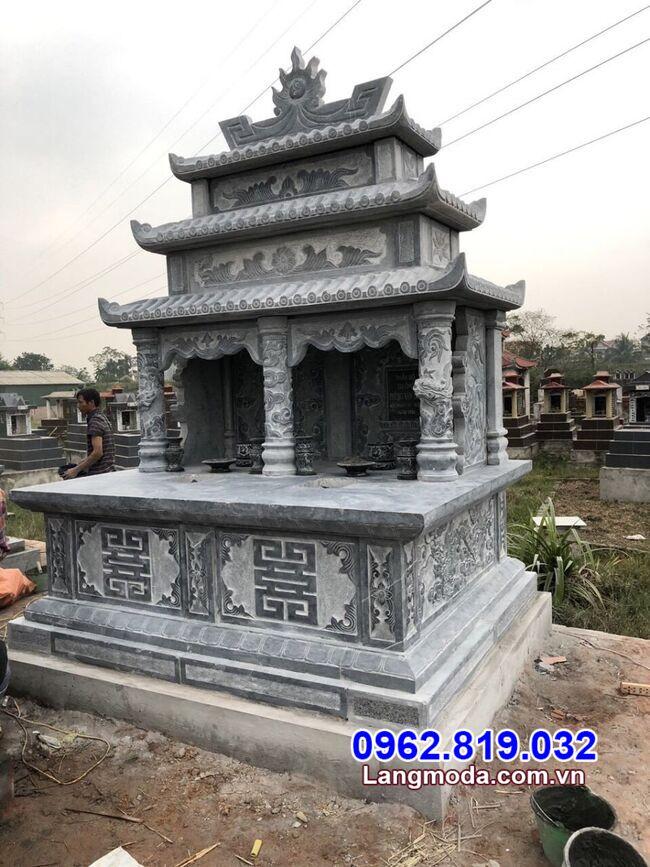mẫu mộ đôi đẹp lắp đặt tại Vũng Tàu