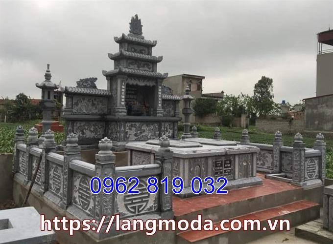 Mẫu nhà mồ đẹp khu mộ gia đình tại Sài Gòn Hồ Chí Minh