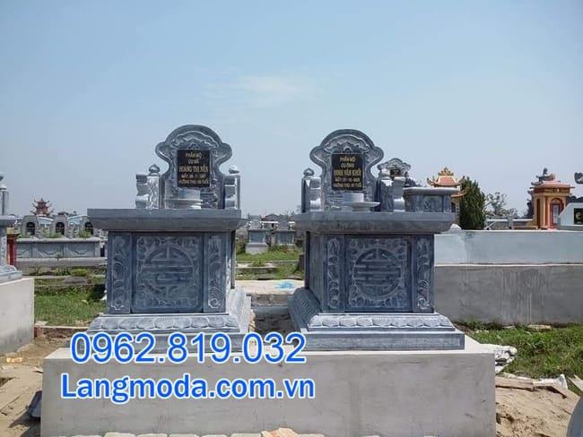 mộ đá đôi tại Cần Thơ