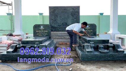 mộ đôi bằng đá cao cấp được ưa chuộng tại Kiên Giang 13