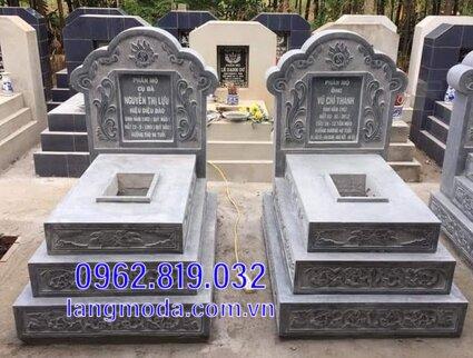 mộ đôi bằng đá cao cấp được ưa chuộng tại Kiên Giang 3
