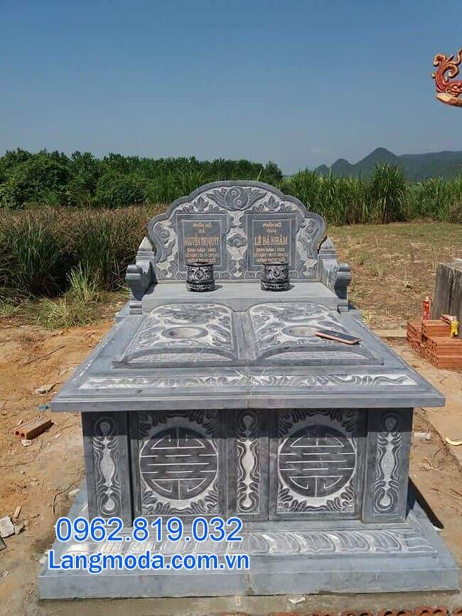 mộ đôi bằng đá đẹp nhất tại Cần Thơ