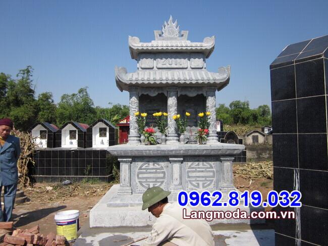 mộ đôi đẹp được lắp đặt tại Vũng Tàu