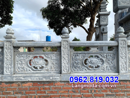 tường rào bằng đá đẹp nhất tại An Giang