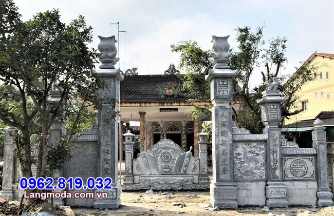 Địa chỉ bán cổng đá tại Khánh Hoà