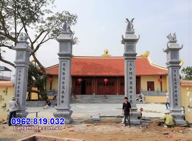Địa chỉ xây cổng chùa tại Khánh Hoà