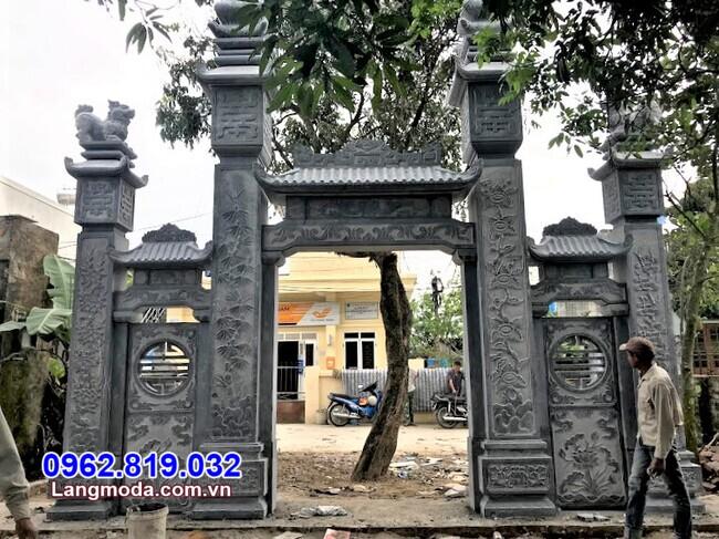 Địa chỉ xây cổng đá tại Khánh Hoà